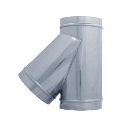 TE 45º para tubo helicoidal galvanizada todas las medidas