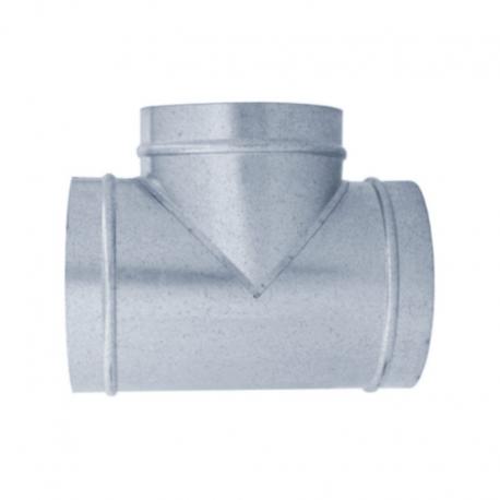 TE 90º galvanizada para tubo helicoidal todas las medidas
