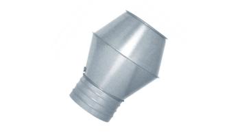 Sombrerete jet galvanizado para tubo helicoidal todas las medidas