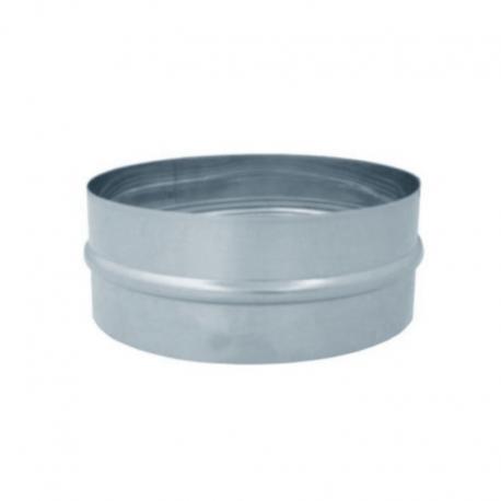 Manguito pieza galvanizado para tubo helicoidal todas las medidas