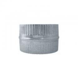 Manguito unión galvanizado para tubo flexible todas las medidas