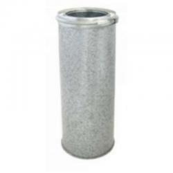 Tubo aislado de acero inoxidable-galvanizado todos los diámetros
