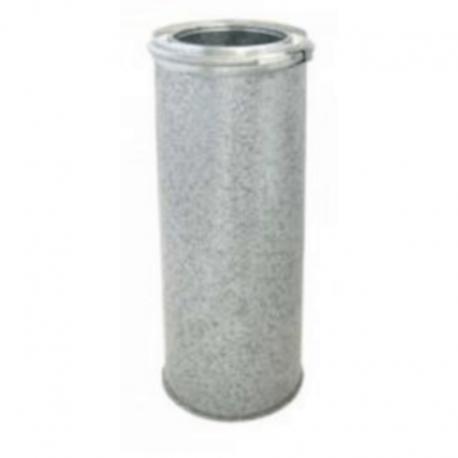 Tubo aislado 1metro acero inoxidable-galvanizado todos los diámetros