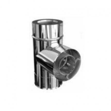 TE 90º aislada acero inoxidable-acero inoxidable para tubo aislado todas las medidas