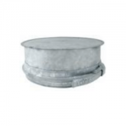 Tapón aislado acero inoxidable-galvanizado para tubos aislados
