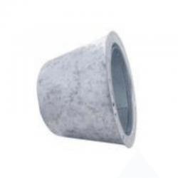 Adaptador tubo doble a sencillo aislado inox-galva para tubos aislados