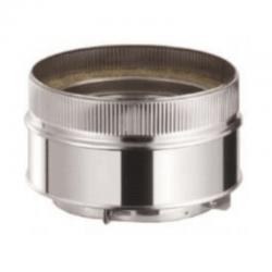 Adaptador tubo sencillo a doble aislado inox-inox para tubos aislados