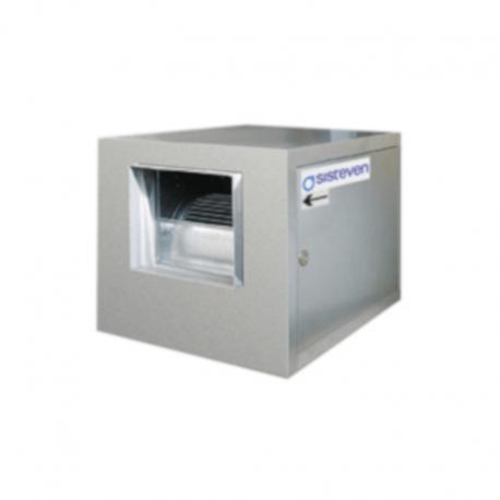 Caja de ventilación a transmisión con ventiladores de doble aspiración
