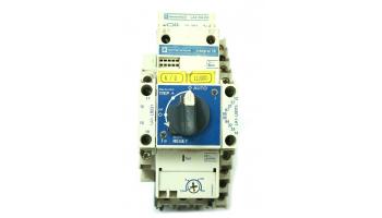 Bloque contactor mas guardamotor 3P regulable 2,5/4 A TELEMECANIQUE