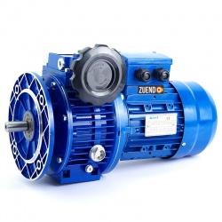 Motor trifásico 220/380V 0,37 KW / 0,5 CV con variador mecánico