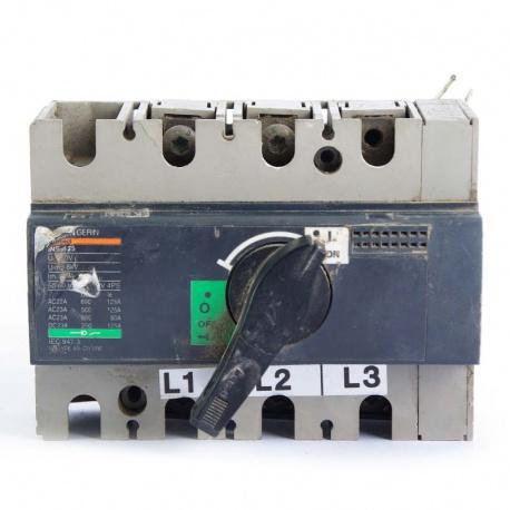 Nº 4173. Interruptor Automático Merlín Gerin 4 Polos 100A