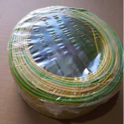 Cable unipolar libre de halogenos BICOLOR en todas las medidas