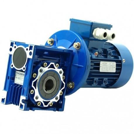 Motorreductor monofásico o trifásico 1,1 KW I: 7,5