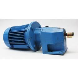 Motor reductor trifásico 380V 0,37 kw / 0,5 CV AEG 353 RPM finales
