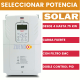 VARIADOR DE FRECUENCIA SOLAR TRIFÁSICO 0,75 KW LS