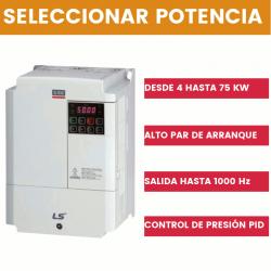 Variador de frecuencia LS modelo S100