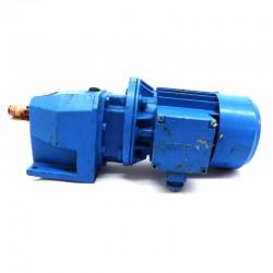 Motorreductor trifásico 380V SIEMENS 0,25 Kw con reductor coaxial CUÑAT 112,5 RPM finales