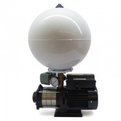 Bomba multietapa superficie horizontal 0,55 Kw con presostato y acumulador