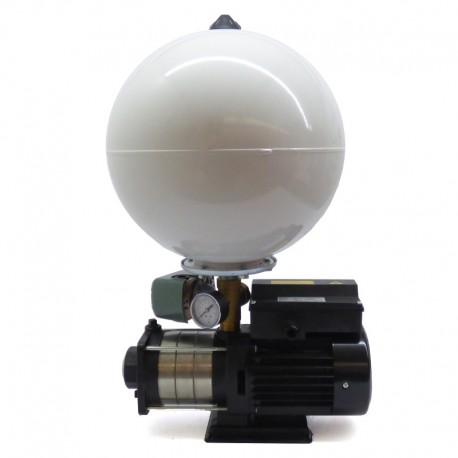 Bomba multietapa superficie horizontal 0,37 Kw con presostato y acumulador