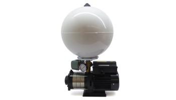 Bomba multietapa superficie horizontal 0,37 Kw monofásica 220V con presostato y acumulador