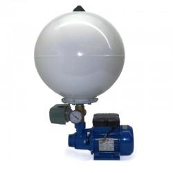 Bomba volumétrica de presión SPERONI monofásica 0,37Kw con presostato y acumulador