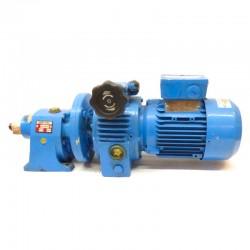 Motorreductor coaxial trifásico 380V con variador de vueltas 0,37 Kw 43-230 RPM finales