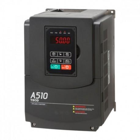 Variador de Frecuencia TECO Trifásico 380V 90 KW / 125 CV A510