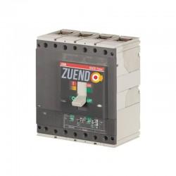 Interruptor automático de caja moldeada ABB 4 polos 400A