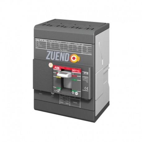 Interruptor automático de caja moldeada ABB 4 polos 125A