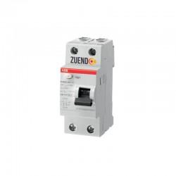Interruptor diferencial ABB 2 polos 25-63A 30 ó 300 miliamperios