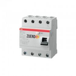 Interruptor diferencial ABB 4 polos 25-125A 30 ó 300 miliamperios