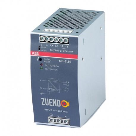 Fuente de alimentación 120W 24Vdc carril DIN