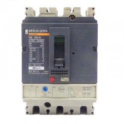 Interruptor Automático regulable 3 Polos MERLIN GERIN 125/160 A