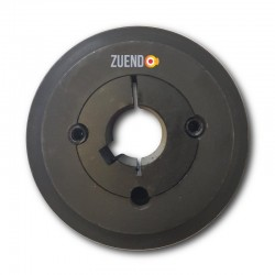 Polea tipo Spa de 120 mm de 2 canales. Selecciona eje.