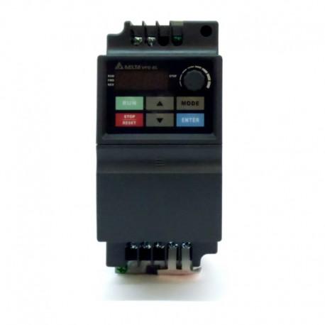 Variador de frecuencia 0,7 KW monofásico 220 V Delta VFD-EL