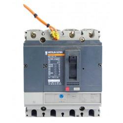 Interruptor Automático De 4 Polos Merlin Gerin Regulable 63/80a Con Bobina De Disparo