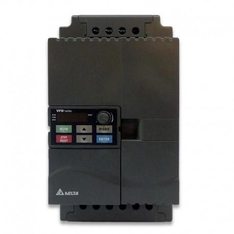 Variador de frecuencia 0,7 KW monofásico 220 V Delta VFD-E
