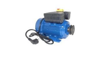 Motor de 1,1 kw / 1,5 cv monofásico 220v alto par de arranque para hormigonera con polea y cable