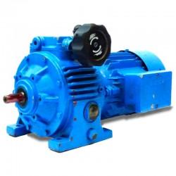 Motor reductor trifásico 380V 0,37Kw con variador de vueltas mecanico CUÑAT 183-1012 RPM finales