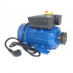Motor de 0,55 kw / 0,75 cv monofásico 220v para hormigonera con polea y cable