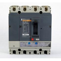 Automático Seccionador De Corte De 4 Polos Merlin Gerin NS250N Regulable 200/250 A