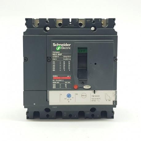 Automático Seccionador De Corte De 4 Polos Schneider Regulable 28/40a
