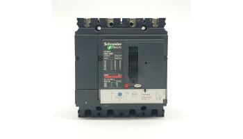 Automático Seccionador De Corte De 4 Polos Schneider Regulable 70/100A