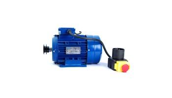 Motor monofásico 220v para hormigonera con polea y cable 0,37kw / 0,75kw / 1,5kw