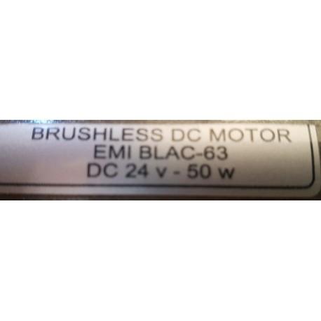 Motor de corriente continua 24V 3000 rpm 50 W.