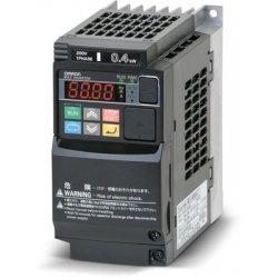 Variador de frecuencia monofásico 220V Omron 0,75KW-1CV