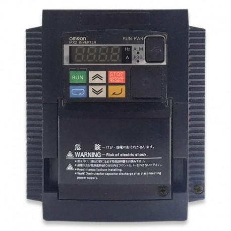 Variador de frecuencia monofásico 220V Omron 1,5KW-2CV