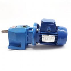 Motorreductor trifásico 220/380V 0,25 Kw con reductor coaxial CUÑAT 66 RPM finales