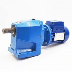 Motorreductor trifásico 220/380V 0,18 Kw con reductor coaxial CUÑAT 18 RPM finales
