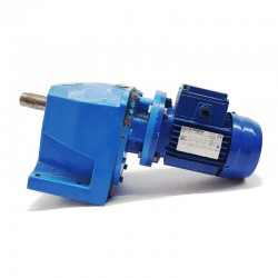 Motorreductor trifásico 220/380V 0,25 Kw con reductor coaxial CUÑAT 32 RPM finales